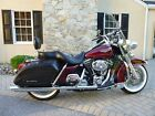 Harley Davidson FLHRCi Road King Classic 2002 FLHRCi Burgundy Road King Classic