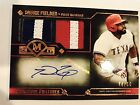 2017 Topps Museum Baseball PRINCE FIELDER Signatures Swatches Relic AUTO #44 50