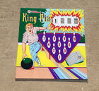 Williams 1962 KING PIN Pinball Machine Replacement BACKGLASS - AWESOME ARTWORK