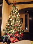REDUCED ~ 9 ft Artificial Christmas Tree Pre-lit Pre-owned