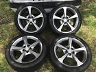 2010 2015 CHEVY CAMARO SS Factory OEM WHEELS 20 Rims Gunmetal Tires