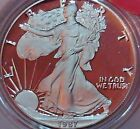 1987 S American Silver Eagle Proof with Box