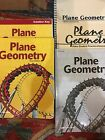 A Beka Plane Geometry Includes 5 books used by one student very good condition