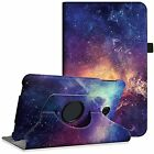 Samsung Galaxy Tab A 10.1 Case - Premium PU Leather 360 Degree Swivel Stand For
