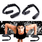 2X Handle Push Up Stands Pull Gym Bar Workout Training Exercise Home Fitness ESU