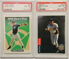 2 ROOKIE CARD LOT 1993 UPPER DECK SP #279 DEREK JETER TOPPS #98 PSA 8 NM-MT RC
