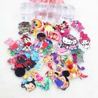 25 PC Lot DISNEY CHARACTERS Flatback cabochon resin HAIR BOW CENTER Super cute