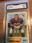 1968 Topps Football Cards 10