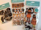 Jolees Halloween Scrapbooking Stickers Lot Banners Phrases Jack o lanterns Card