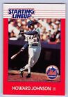 1988   HOWARD JOHNSON - Kenner Starting Lineup Card - NEW YORK METS