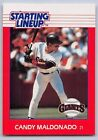 1988  CANDY MALDONADO - Kenner Starting Lineup Card - SAN FRANCISCO GIANTS