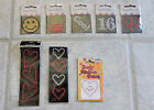 LOT of 7 Crystal Stickers and 1 Body Stick on Stones New