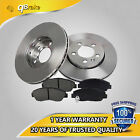 qBrake 280mm Front Premium Brake Rotor & Pad For Jeep Wrangler 90-98