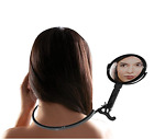Rucci Neck Mirror, Black, M626 5X/1X