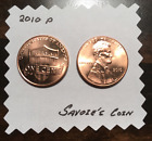 2010 Lincoln Shield Cent Penny P BU Uncirculated From Rolls