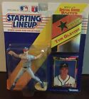 Starting Lineup 1992 Tom Glavine figure with collector cards+ Poster New