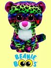 Ty 9 Dotty Beanie Boos Medium Multi color Leopard FROM OUR WILDLIFE STOCK