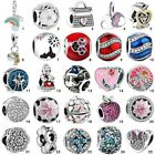 925 Fashion Sterling European Silver Charms Bead For Bracelet Chain Necklace S 1
