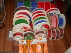 WHOLESALE VINTAGE RIBBON LOT33 PCSRIBBON SPOOLSBRAD NAILERS NOT CHEAP NEW+++