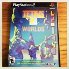 PS2 : TETRIS WORLDS PS2 ( Sony Playststion 2,)Complete Black Label Rated E