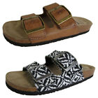 Billabong Womens Beach Dunes Dual Strap Buckled Slip On Sandal Shoes