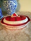 FITZ & FLOYD TOWN & COUNTRY COVERED CASSEROLE