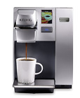 K155 Office Pro Single Cup Commercial K-Cup Pod Coffee Maker Silver