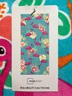 Mainstays BEACH TOWEL 28 X 60 PINK FLAMINGOS on Teal Blue NEW with TAGS