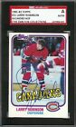 Larry Robinson Autographed Signed 1981-82 Topps Card Montreal Canadiens SGC