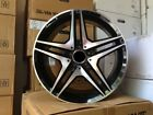 18 AMG BLACK RIMS WHEELS FITS MERCEDES BENZ S CLASS S430 S500 S550 S400 S600