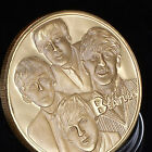 The Beatles Gold Commemorative Collectors Coins Delicate Gift Nice Quality