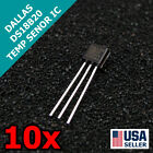 10x DALLAS DS18B20 18B20 TO 92 1 Wire Digital Temperature Sensor IC 10pcs Q29