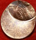 Uncirculated 199? Philadelphia Mint Lincoln Cent Off Center Error Free S/H