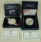 2010 American Veterans Disabled for Life Proof Silver Dollar  UNC Silver Dollar