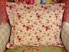 WAVERLY NORFOLK ROSE MORNING GLORY DECORATIVE TOSS THROW 16x18 PILLOW SHAM/SHAMS