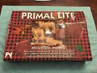 1993 VINTAGE PRIMAL LITE MOUNTAIN MOOSE & CABINS 10CT MINI LIGHT STRING SET NIB