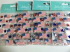 Jolees Boutique Flag Repeats Scrapbooking Stickers Packages Lot Patriotic