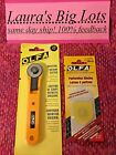 OLFA Small Rotary Cutter 28mm plus 2 Extra Blades Brand New 1200