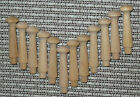 3 1 2 Inch Standard SHAKER Style WOOD PEGS Unfinished Birch Lot 12 25 50 100
