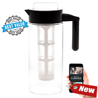 Cold Brew Coffee Maker with FREE Recipe eBook! SUPER Fine Mesh Filter, BPA-FREE,