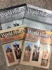 Abeka World History  Cultures Student Text Teacher Guide Keys Test Grade 10 Lot