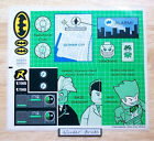 Lego STICKERS 7783 Batman Batcave Joker Two Face  NEW Condition