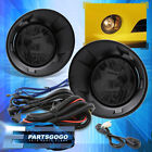 For 10 13 Chevy Camaro Driving Fog Lights Lamps Smoked Lens + Wiring Switch Kit