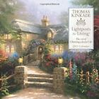 USED GD Thomas Kinkade Lightposts for Living 2013 Wall Calendar The Art of Ch