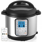 Instant Pot Smart 60 Bluetooth Multi-Use Programmable Pressure Cooker 6 Qt |Stai