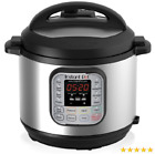 Instant Pot DUO60 6 Qt 7-in-1 Multi-Use Programmable Pressure Cooker, Slow Cook