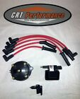 JEEP YJ XJ 25L 4CYL IGNITION TUNE UP UPGRADE KIT RED Wrangler Cherokee 91 92 93