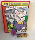2013 Obama White House Easter Egg Roll Purple Egg  WH Holidays Coloring Book