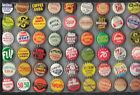 54 Diff Soda Bottle Caps Cork Unused You Grt Thr Caps Only  3