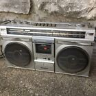 RARE VTG Boombox 1982 SANYO M9935K GHETTO BLASTER RADIO CASSETTE MADE JAPAN